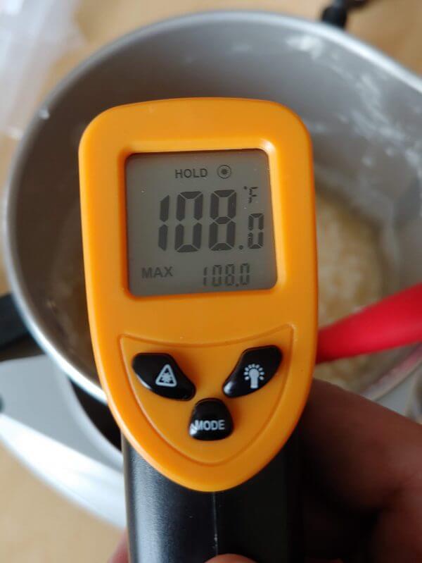 Soy wax melting temperature