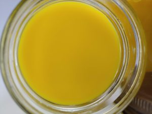 Yellow soy close-up