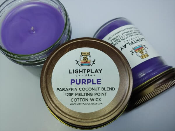 Purple Paraffin Top