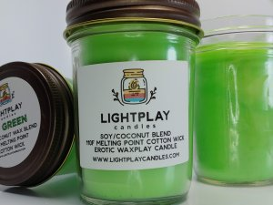 Soy Wicked UV Green - Front