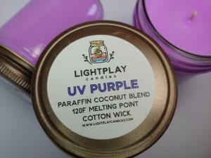 Paraffin UV Purple Wicked - Top