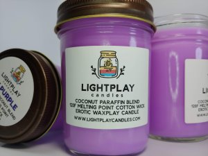 Paraffin UV Purple Wicked - Front